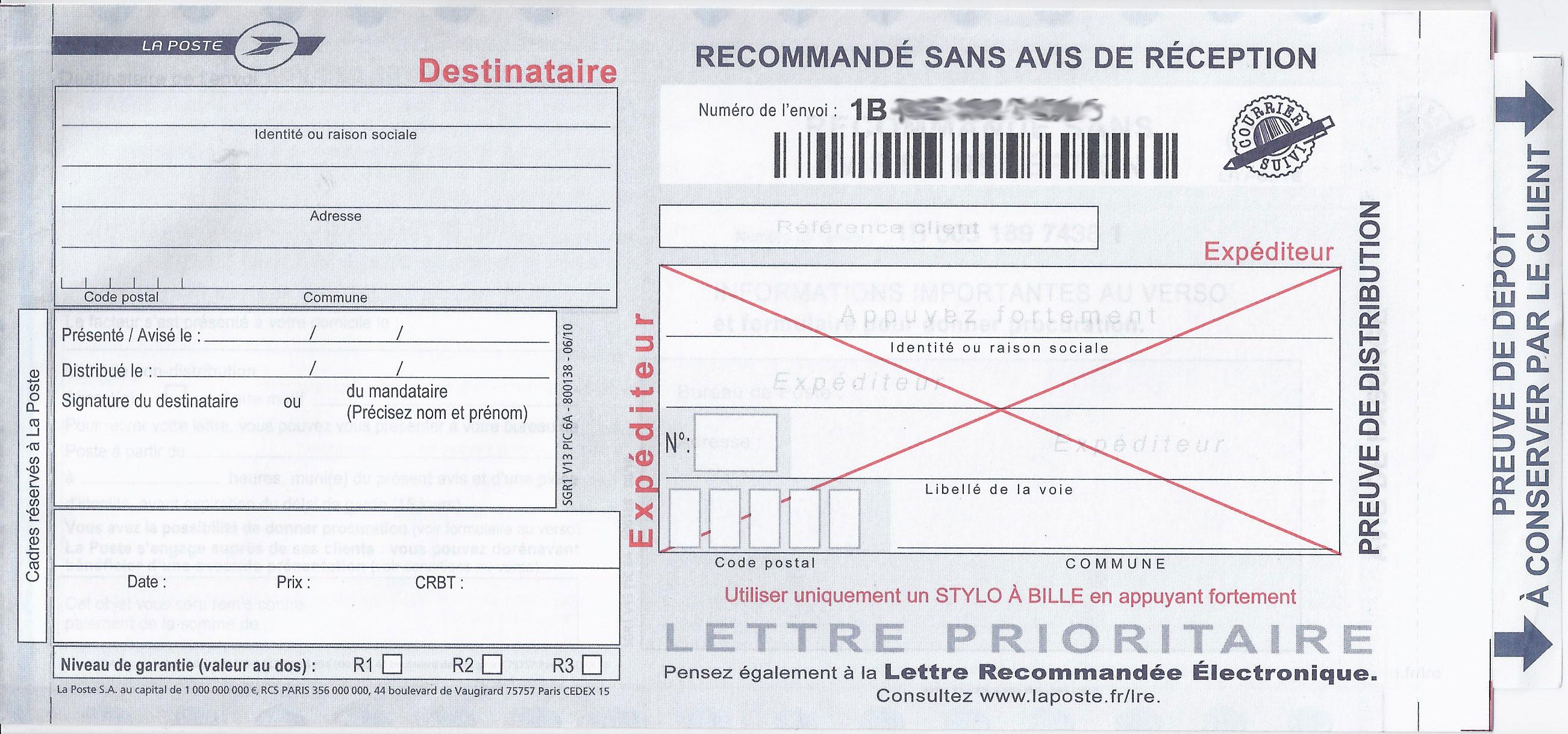 Suivi courrier - La poste demenagement changement d adresse ...