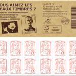 Prix carnet de timbre