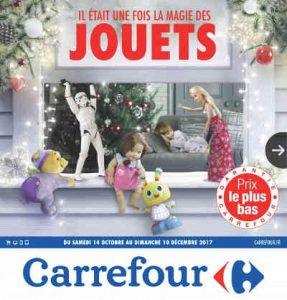 Catalogue jouets Noël Carrefour